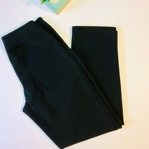 Talbots Petites Heritage Black Dress Pants Size 6p